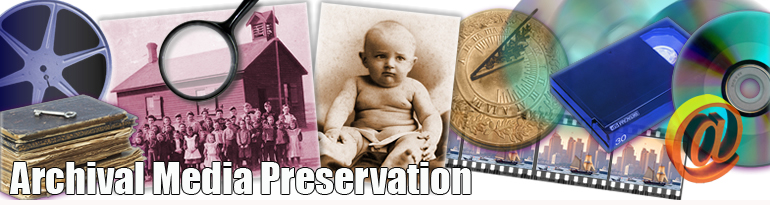Archival Media Preservation header image 2